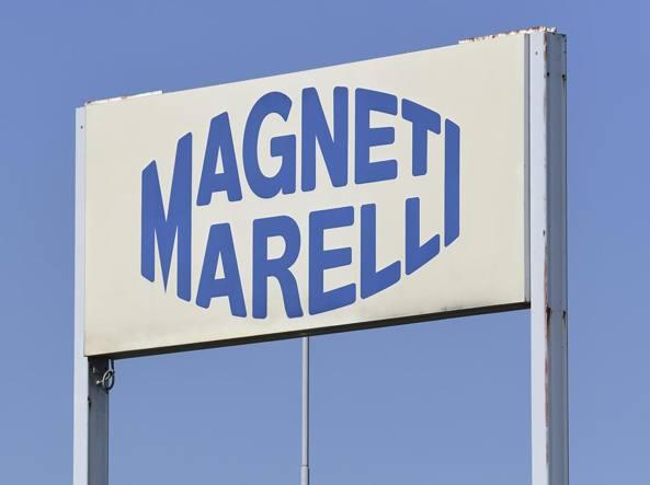 Il vecchio logo dell'azienda, oggi Magneti Corp