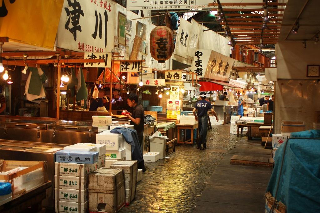 Mercato del pesce di Tokyo