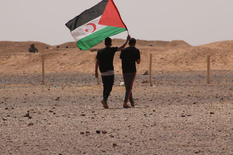 La bandiera saharawi