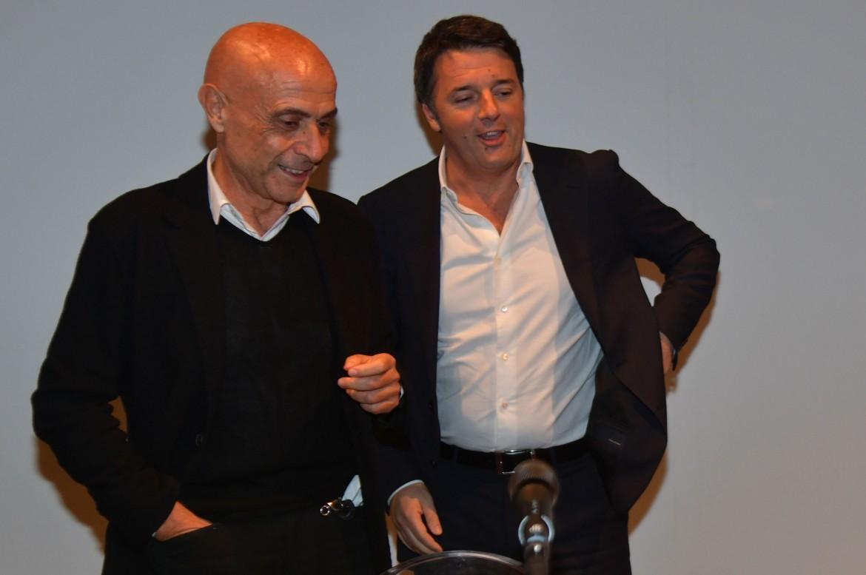 Marco Minniti e Matteo Renzi