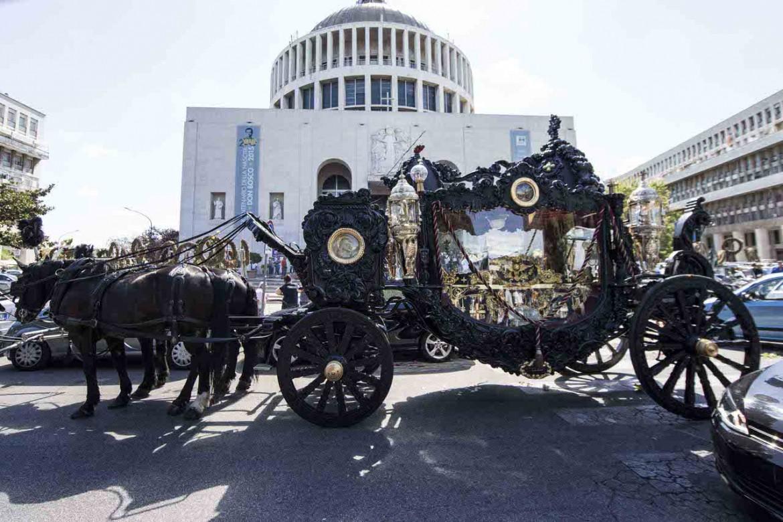 Roma, il funerale di Vittorio Casamonica
