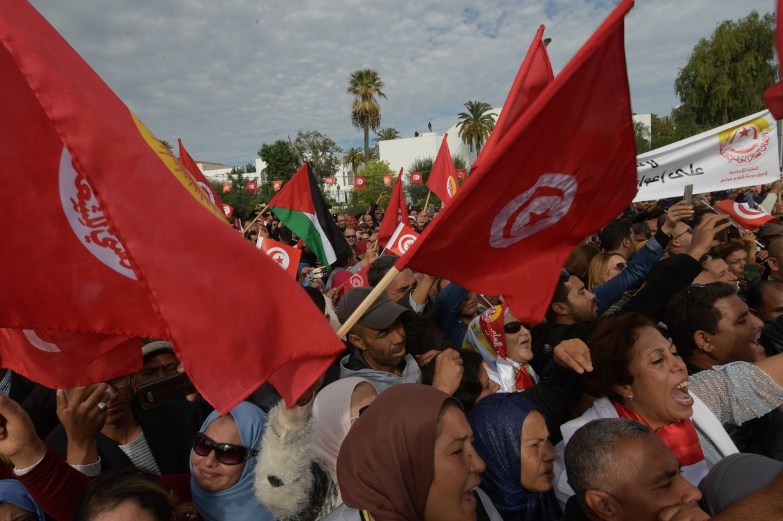 Lo sciopero generale dello scorso novembre a Tunisi