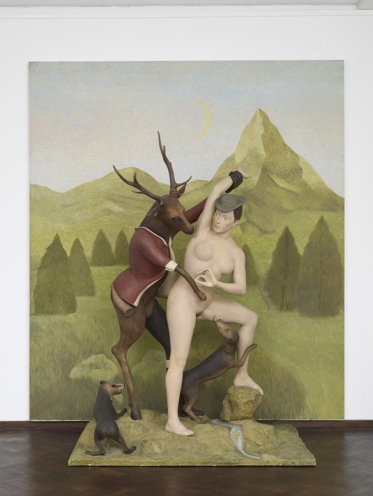 Pierre Klossowski, Diane & Acteon, 1990