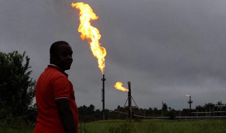 Un giacimento petrolifero in Nigeria