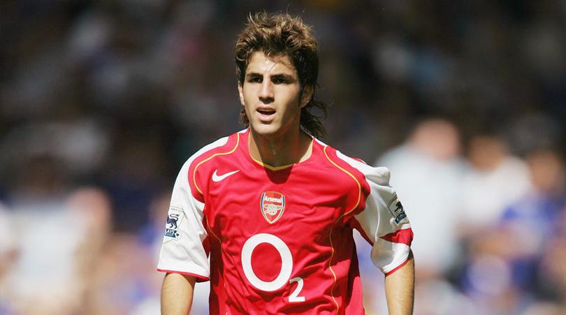 Fabregas nell'Arsenal