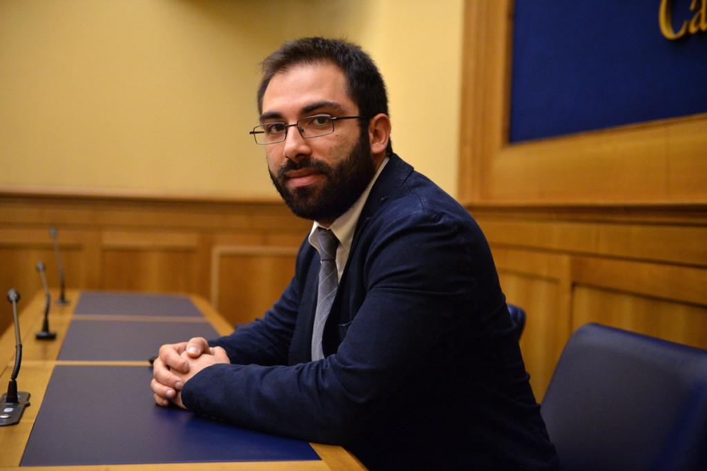 Il presidente della commissione affari costituzionali della camera Giuseppe Brescia