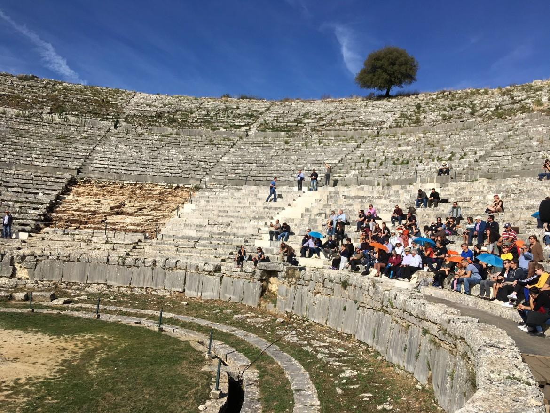 Lo spettacolare teatro di Dodona voluto da Pirro