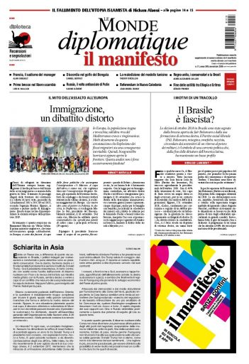 Le Monde Diplomatique di novembre 2018
