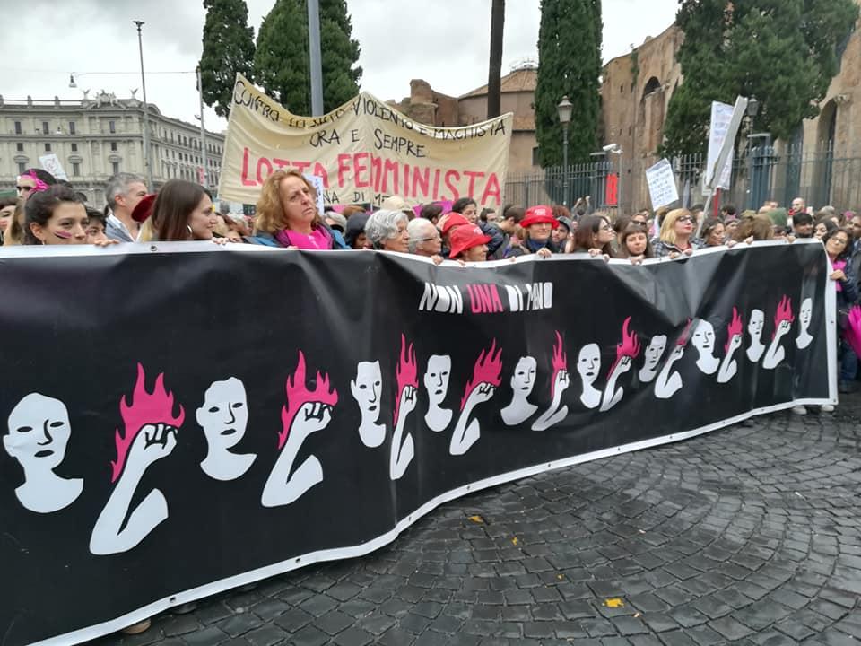 Non Una Di Meno, corteo nazionale a Roma