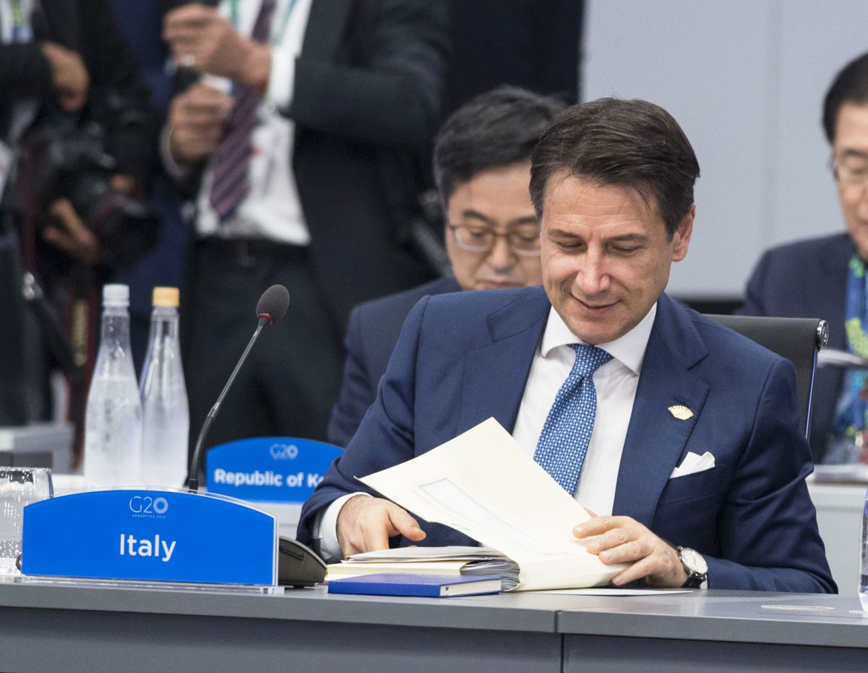Conte alla Cerimonia di accoglienza del G20 a Buenos Aires