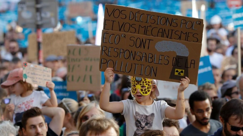 Manifestazione per il clima a Parigi