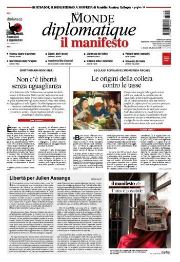 Le Monde diplomatique di dicembre 2018