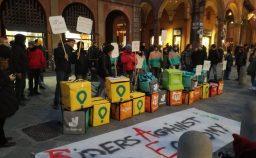 Primo sciopero globale per i diritti dei ciclofattorini