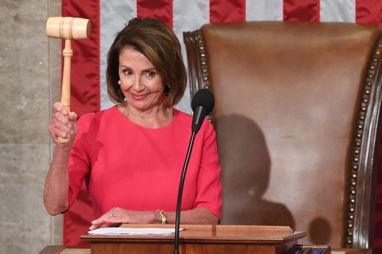 La presidentessa della Camera Usa, Nancy Pelosi