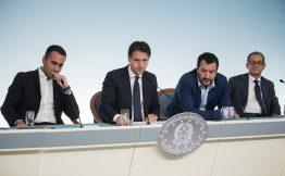 Conferenza stampa dopo il Consiglio dei ministri