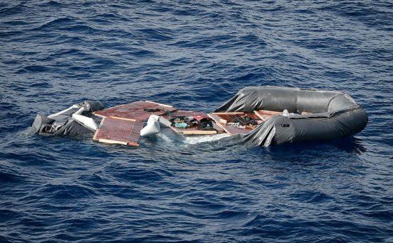 Affonda gommone strage di migranti 117 le vittime