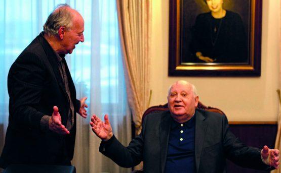 Meeting Gorbachev il racconto di un uomo nel flusso della Storia