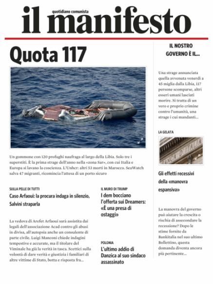 Edizione del 20012019