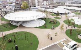 Studio Nendo Nara Padiglione e parco CoFuFun