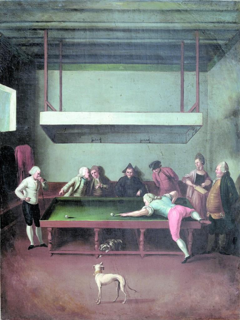 Uno degli undici sovrapporta  di Gaspare Vizzini (1780 ca.), Palermo, Palazzo Butera