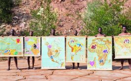 Le mappe ricamate del colonialismo