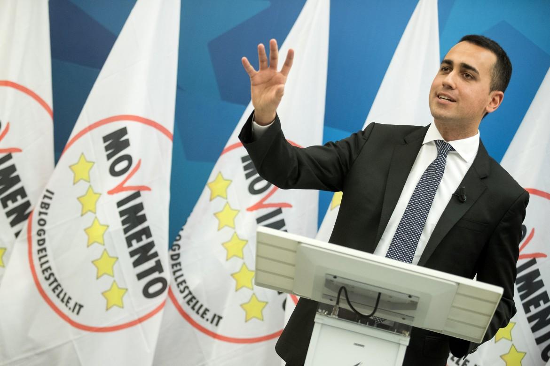 Il vicepresidente del consiglio Luigi Di Maio