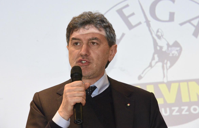 Il presidente dell'Abruzzo Marco Marsilio