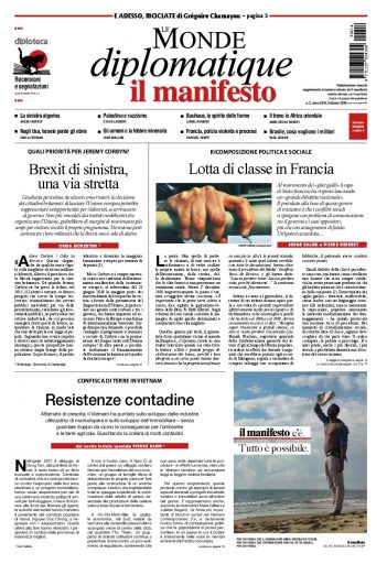 Le Monde diplomatique di febbraio 2019