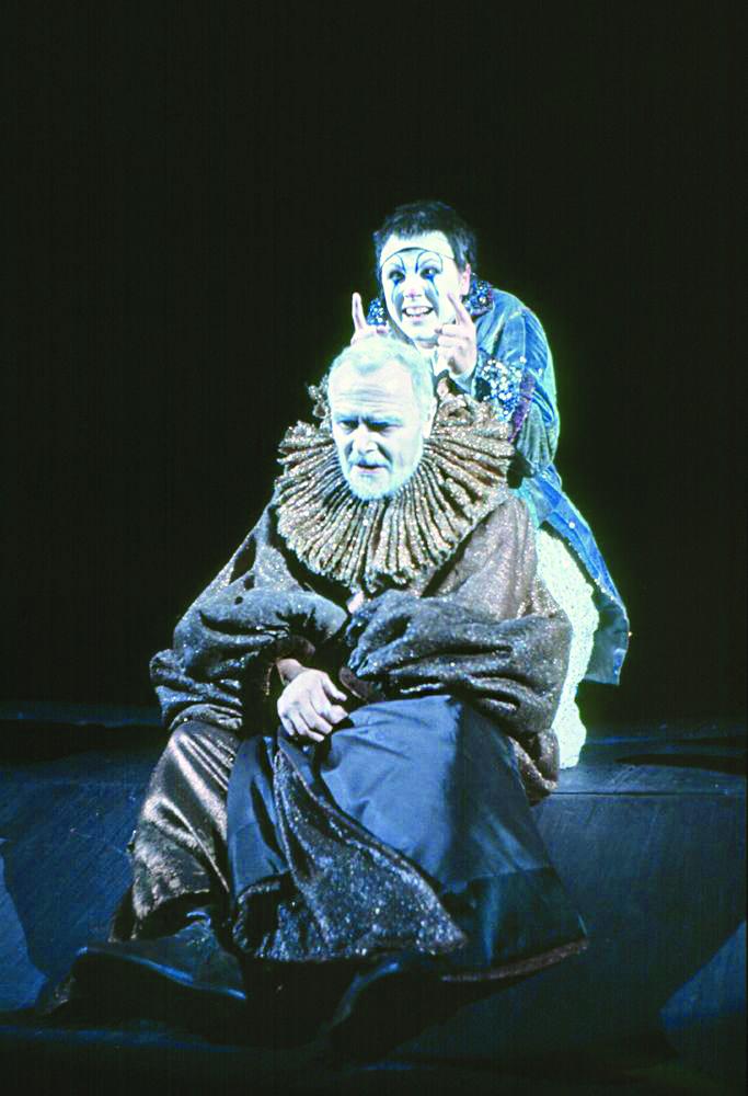 Re Lear con la regia di Giorgo Strehler