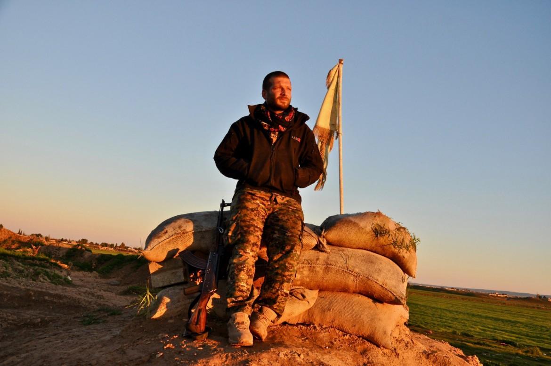 Lorenzo Orsetti, morto in combattimento insieme ai curdi contro l'Isis