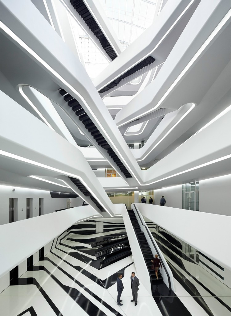 Zaha Hadid, Mosca, Dominion Office Building (2012-2015)