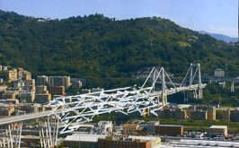 L8217arte reinventa lo spazio vuoto del ponte Morandi