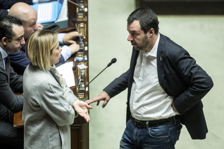 Giorgia Meloni, Matteo Salvini