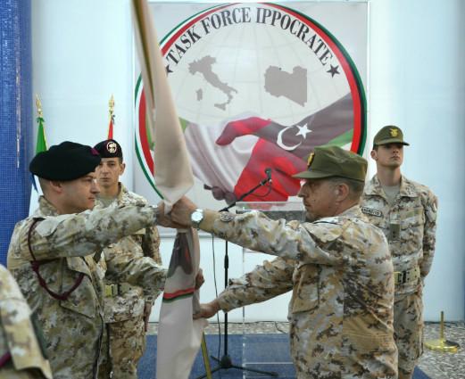 Il comando della missione italiana a Misurata