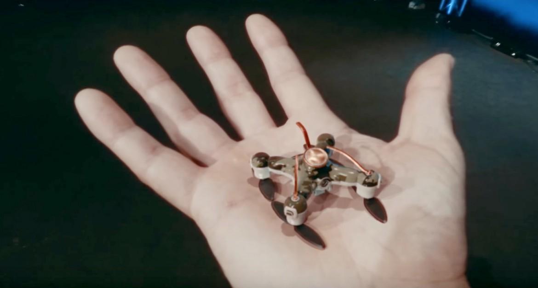 La forma che si immagina abbia un drone killer