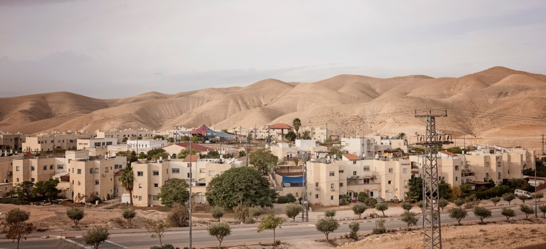 La colonia di Ariel, nel nord della Cisgiordania occupata