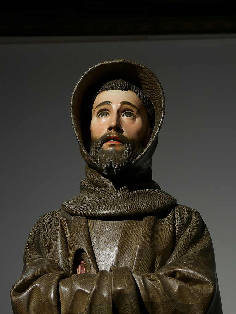 Pedro de Mena y Medrano (1628-1688),  San Francesco, part., 1663, Toledo, Cattedrale