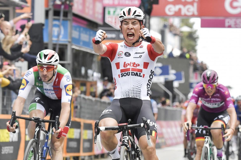 Caleb Ewan, vincitore della tappa