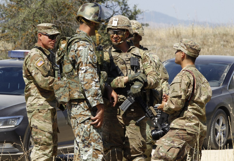 Soldati Nato dispiegati nei Balcani