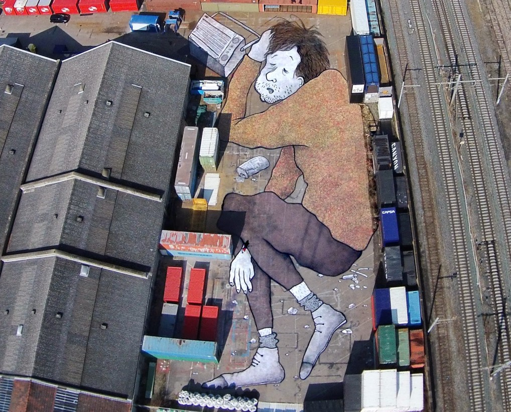 Street art a Lione