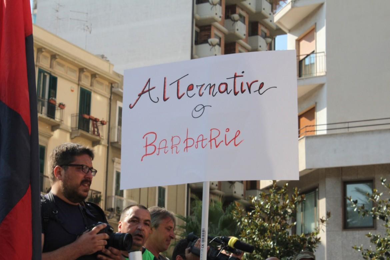 Manifestazione ambientalista a Taranto
