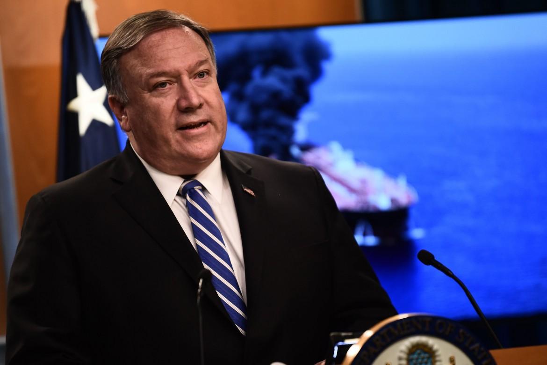 Il segretario di Stato Usa Mike Pompeo