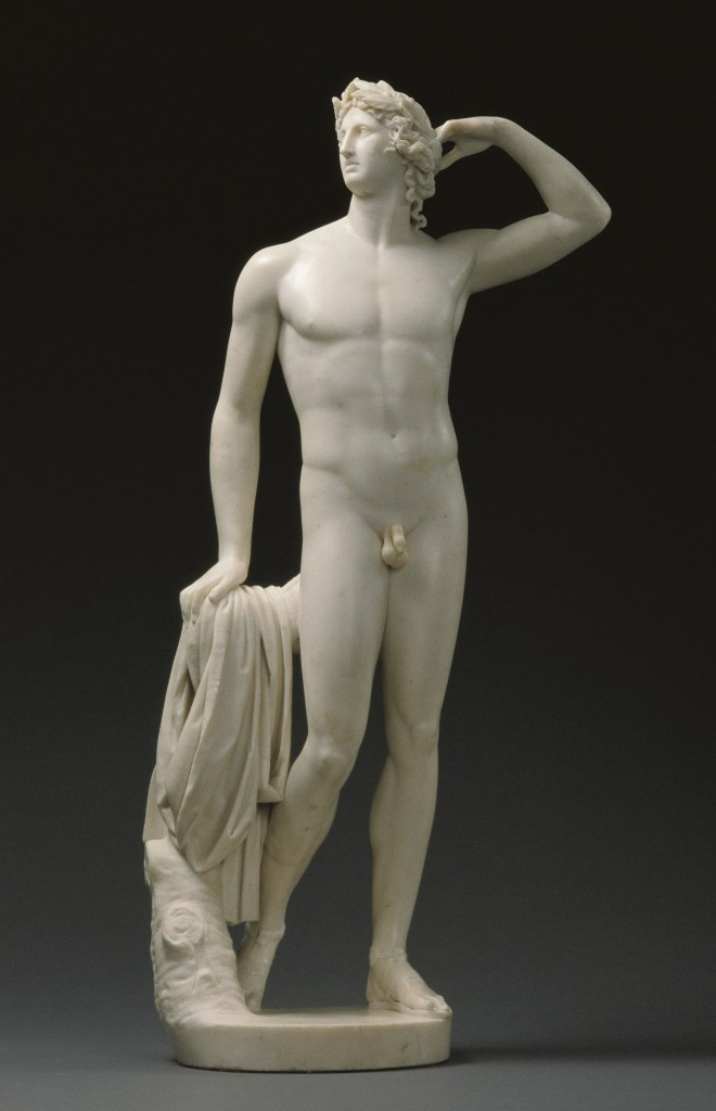 Antonio Canova, Apollo che si incorona, 1781-'82, Los Angeles, Getty Museum