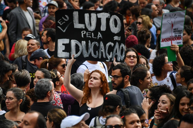 San Paolo, 30 maggio 2019: «Io lotto per l'educazione»