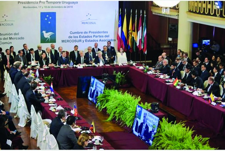 Incontro tra rappresentanti della Ue e del Mercosur