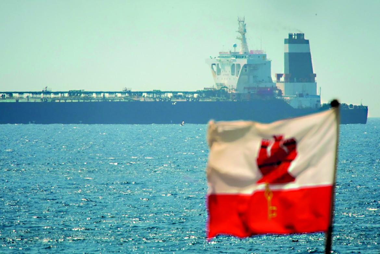 La petroliera iraniana confiscata a Gibilterra