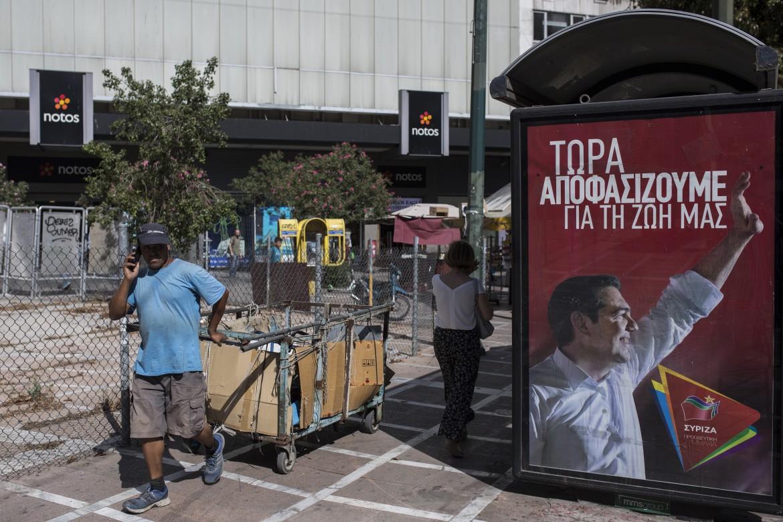 Campagna elettorale ad Atene