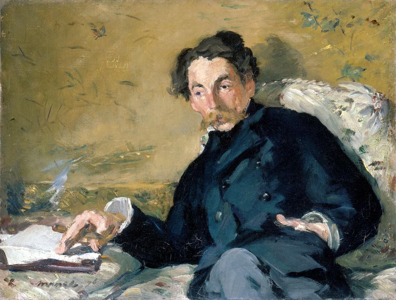 Il ritratto di Stéphane Mallarmé firmato da Edouard Manet nel 1876