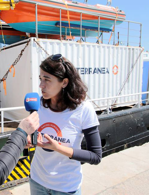 Alessandra Sciurba, portavoce di Mediterranea