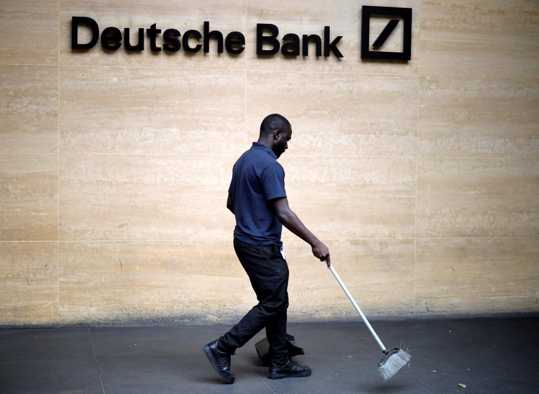 La sede di Deutsche Bank